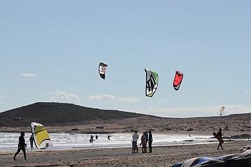 Кайтсерфинг острова Тенерифе в Испании